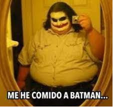 Joker se comio a Bat-Man y ahora tiene covid - meme