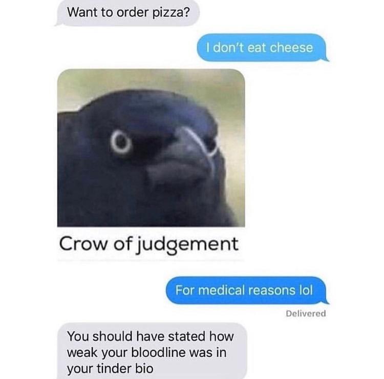 crow - meme
