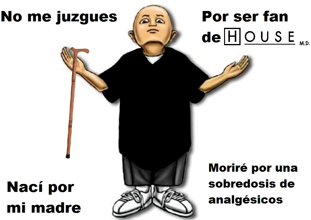 Gregory House: Diagnóstico médico. - meme