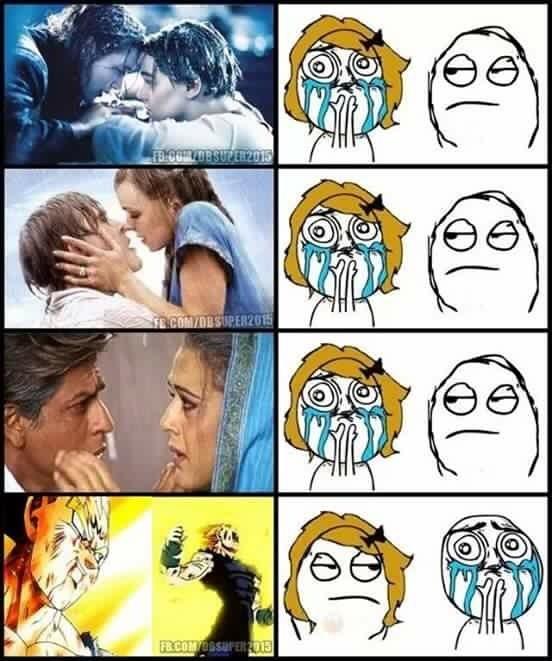 guem nau gosta de animes é bobo - meme