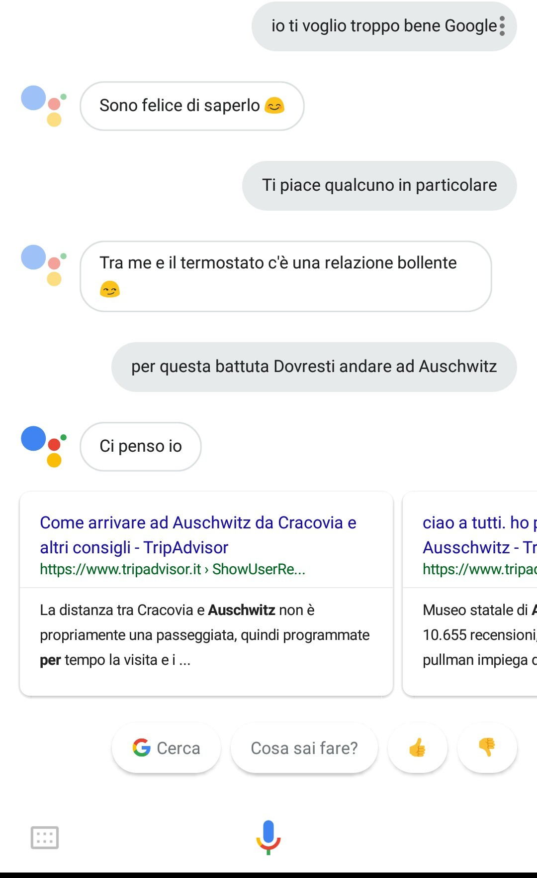 Google è un ebreo - meme