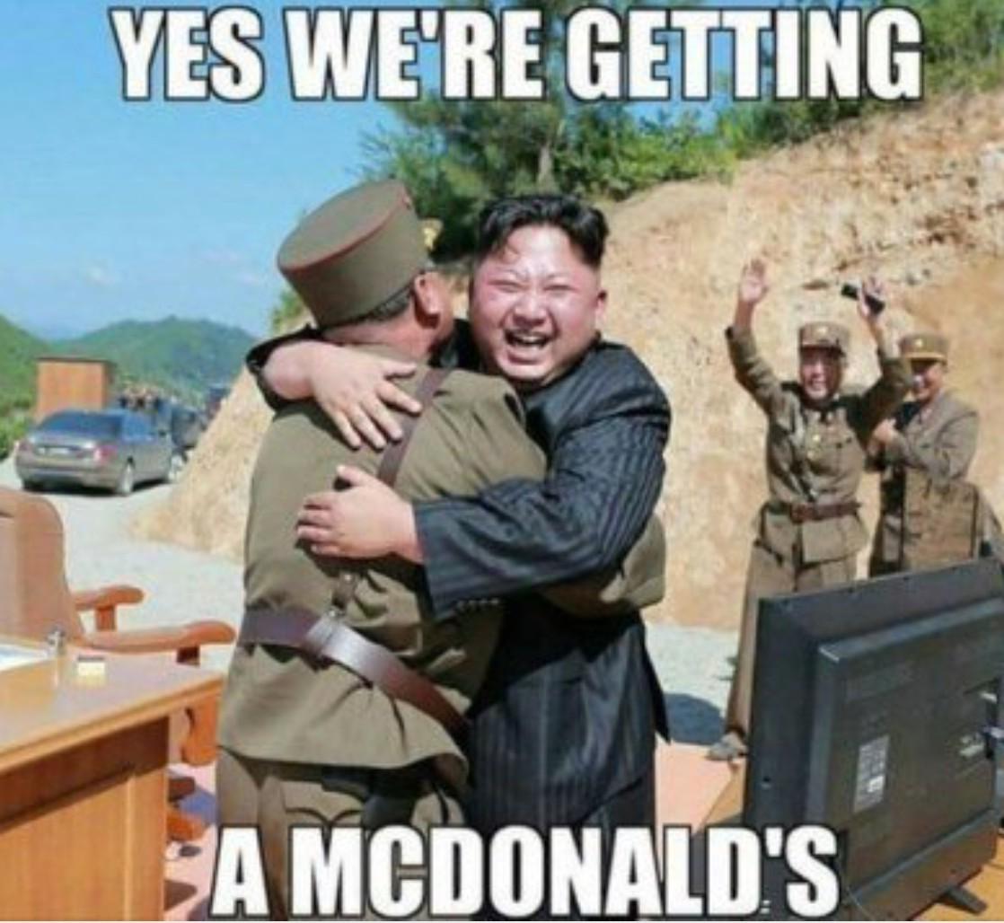 Awwe jisss macdonal - meme