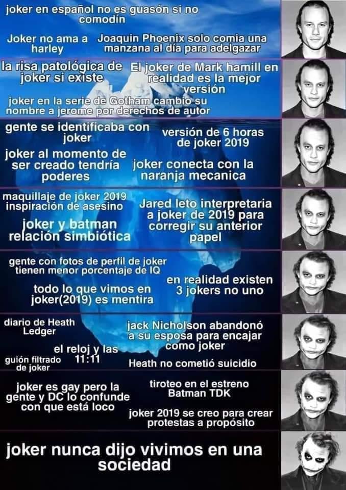 Iceberg del bromas - meme