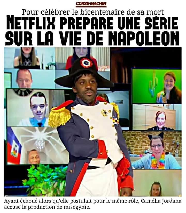 J'ai hâte de voir à quoi va ressembler Napoléon - meme