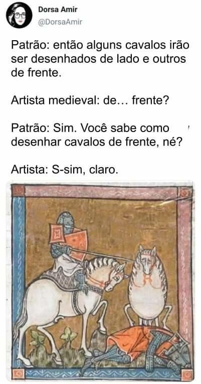 Cavalos - meme