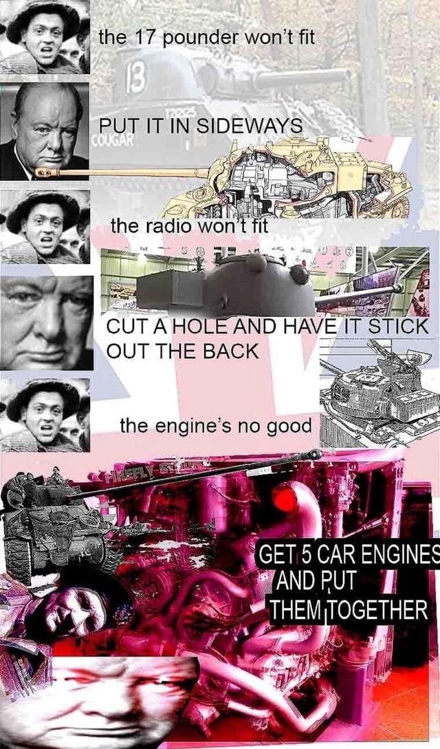 British tank meme