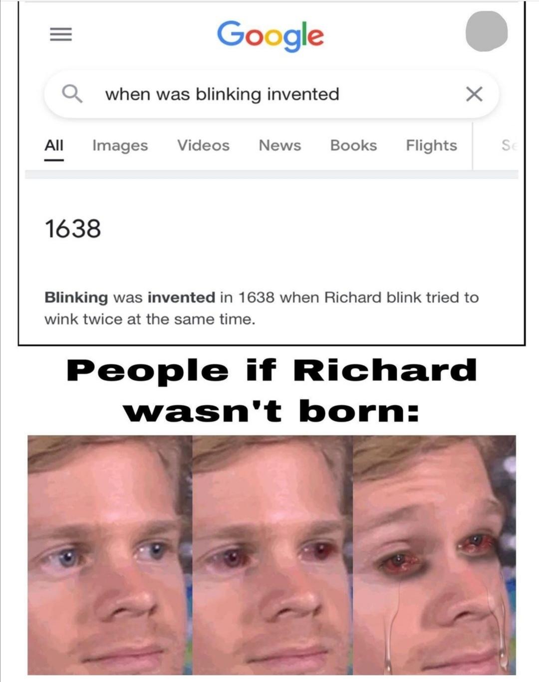 Thanks Richard - meme
