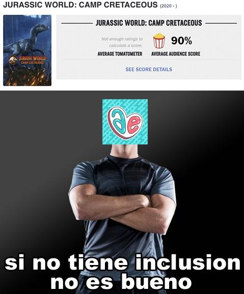 Alfrely: inclusion = bueno - meme