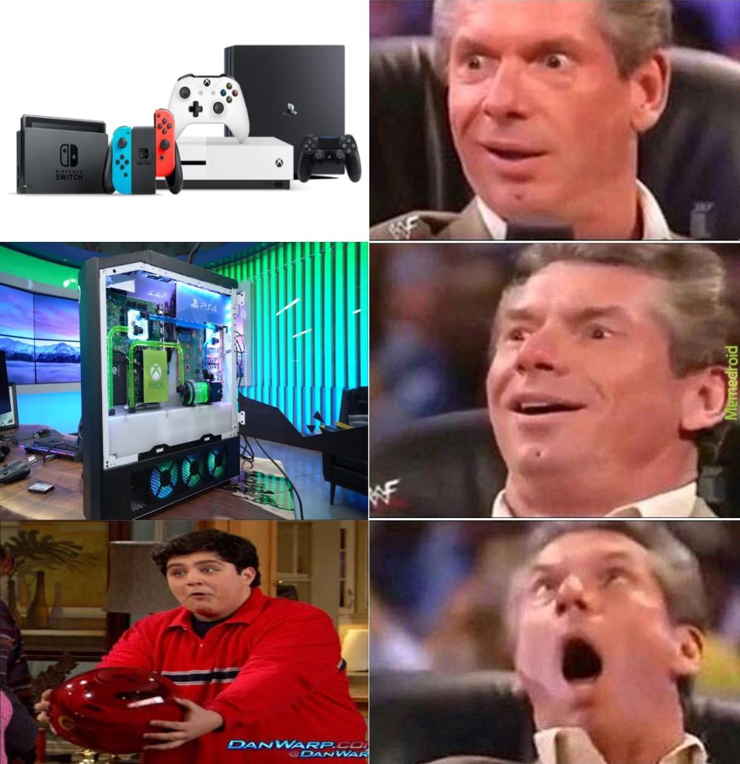 Tan solo es la más sofisticada experiencia en videojuegos jamás creada por los humanos! - meme