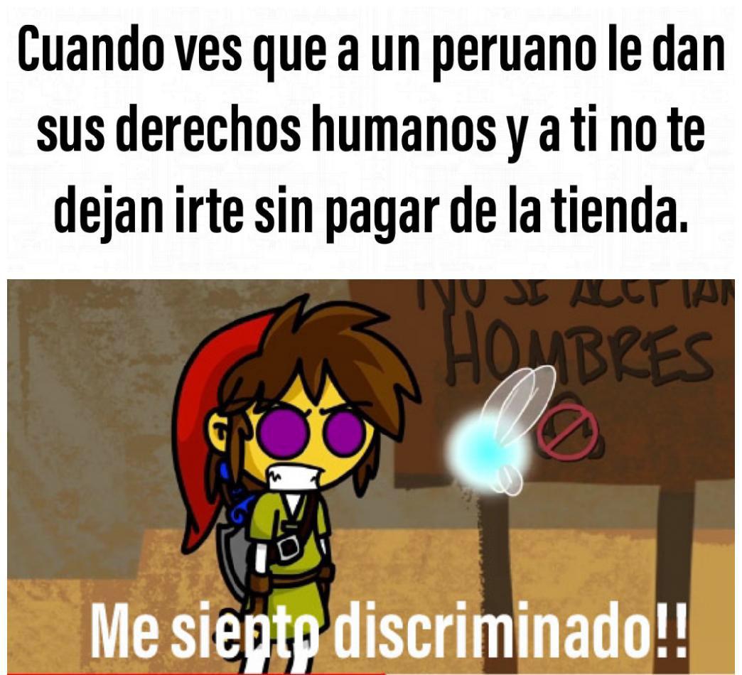 Los odio peruanos!!! - meme