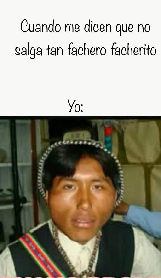 Fachero - meme
