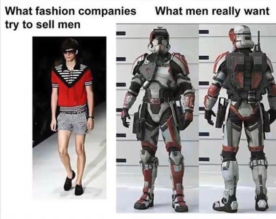 True Fashion - meme