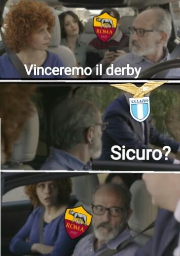 Derby romano - meme