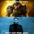Don't kill people's pets in general, mkay