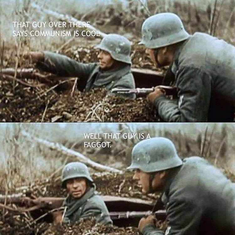 Say no to communism - meme