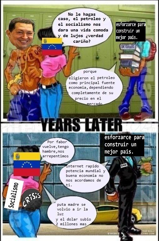 Venezuela ese camino no es de cracks :( - meme