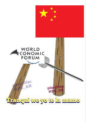 literalmente todos los weones del WEF se la tragan completa - meme