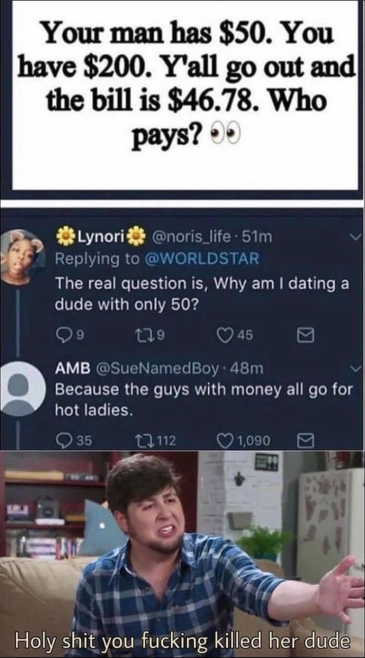 she dead - meme