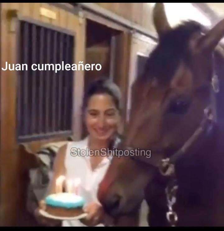 Juan cumple años. - meme