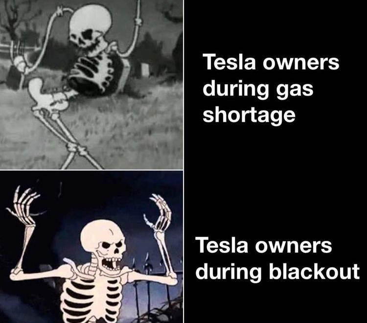 Tesla - meme