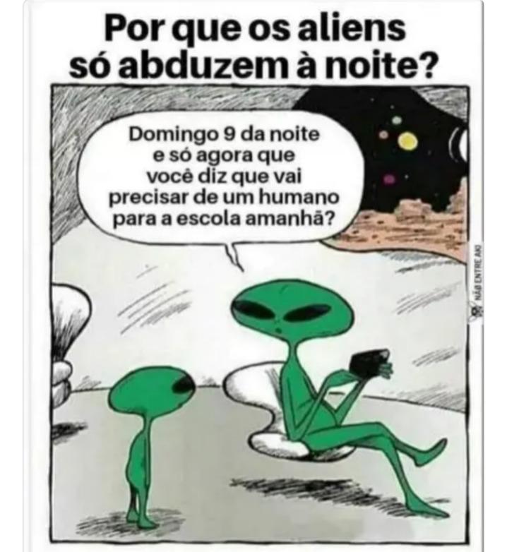 Alien X humanos - meme