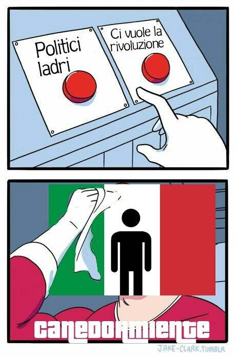 """Non puoi capire il disgusto che mi danno le """"idee politiche"""" dell'italiano medio - meme"""
