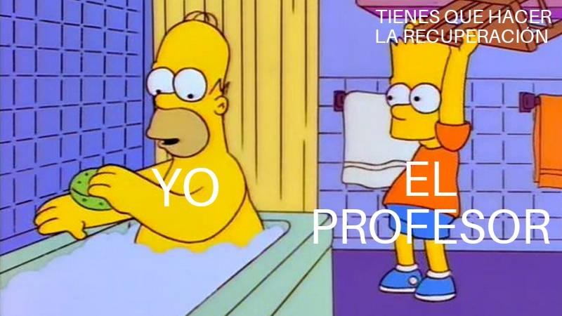 Maldito profesor - meme