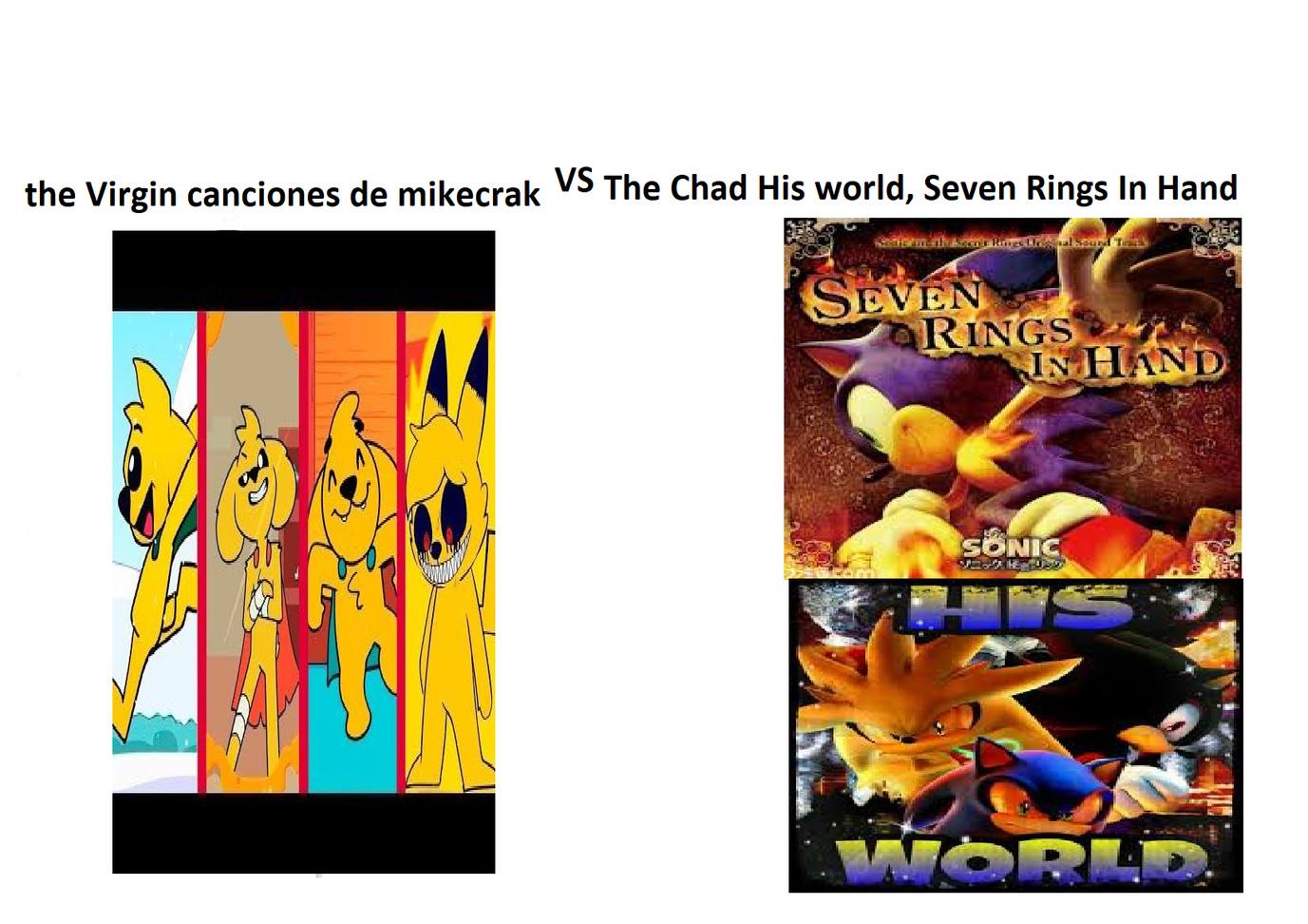 Temazos de los malos juegos de Sonic - meme
