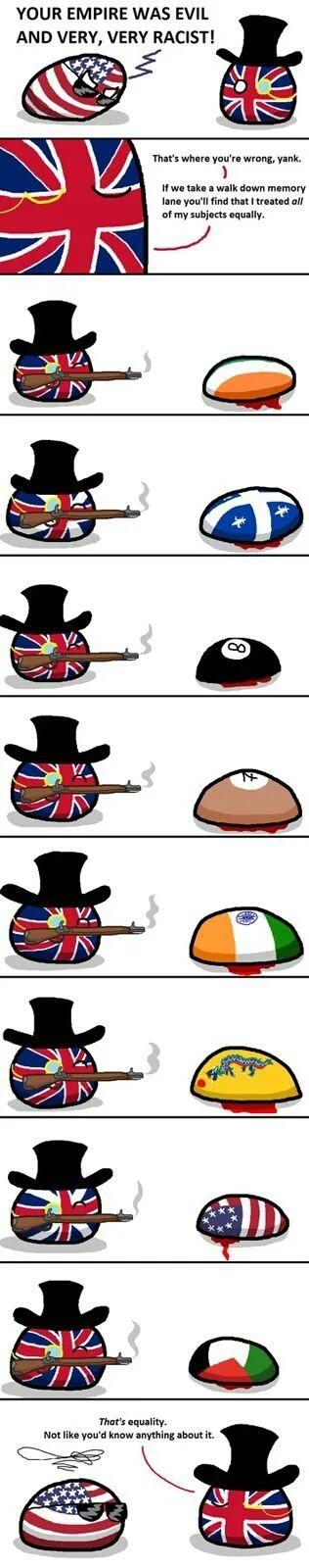 British equality - meme
