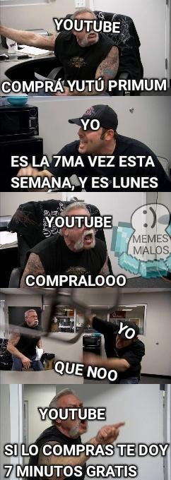 Pinche yutub - meme