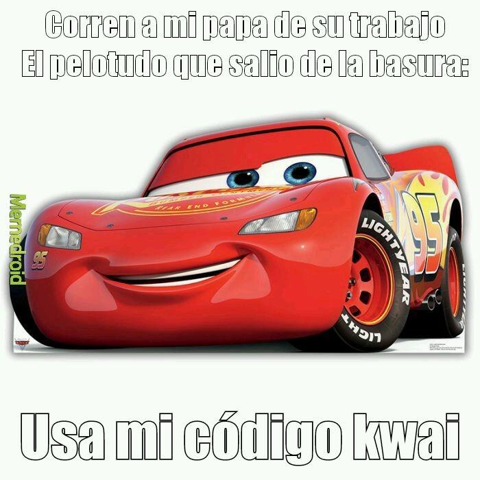 Usa mi codigo kwai - meme