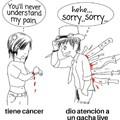 Los siento