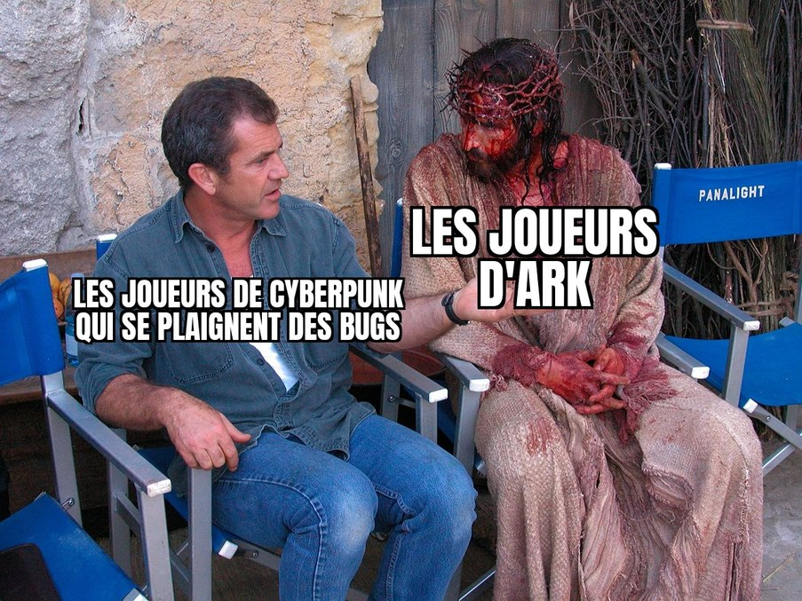 Ark ... Ce beau bug - meme