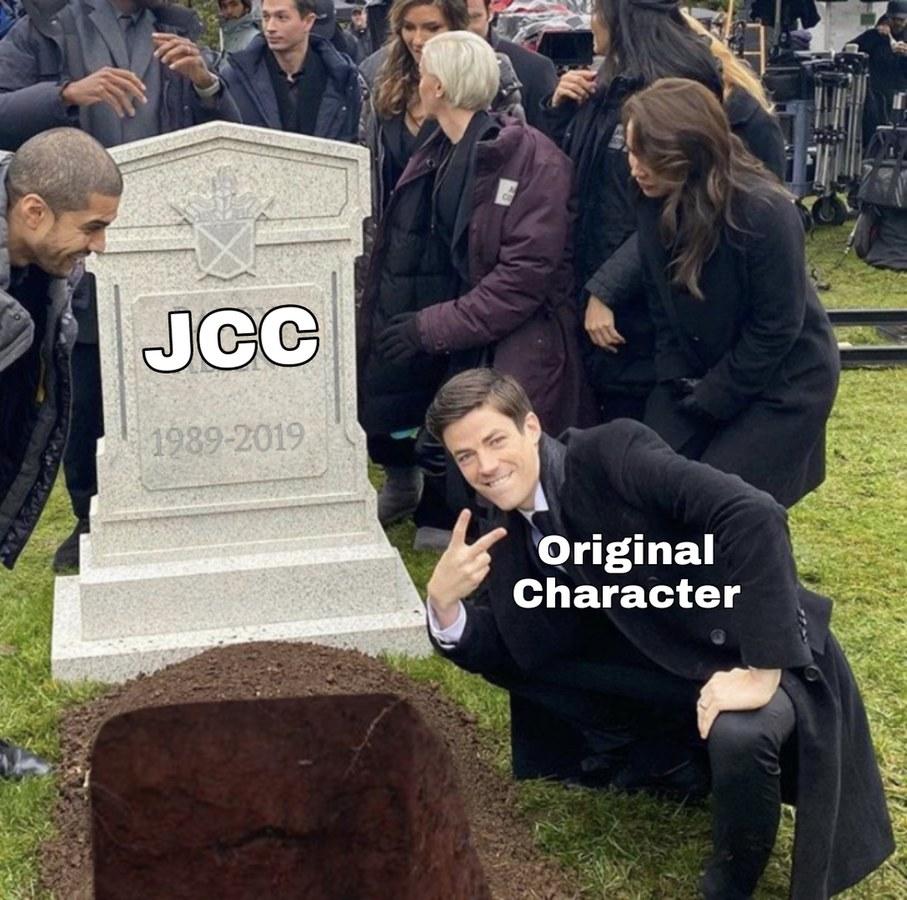 Literal, es el único miembro de jcc que todavía sigue comentando XD - meme