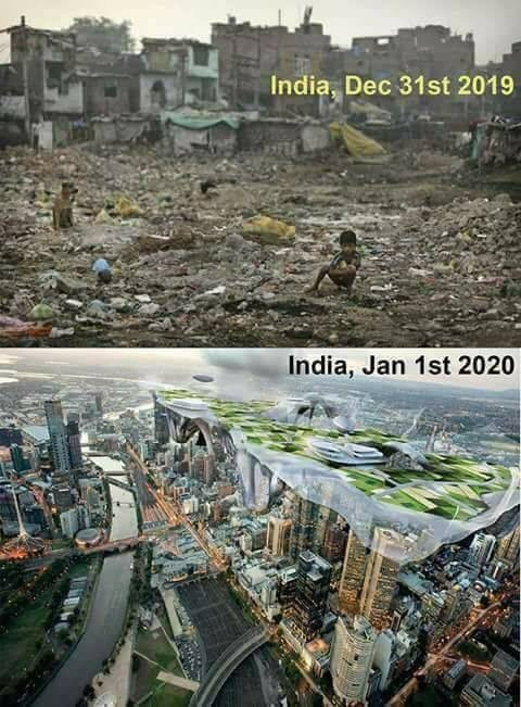 superpower by 2020, youll see... you can actually see someone streetshitin' (so thats why Indians come and migrate to other countries...) - meme