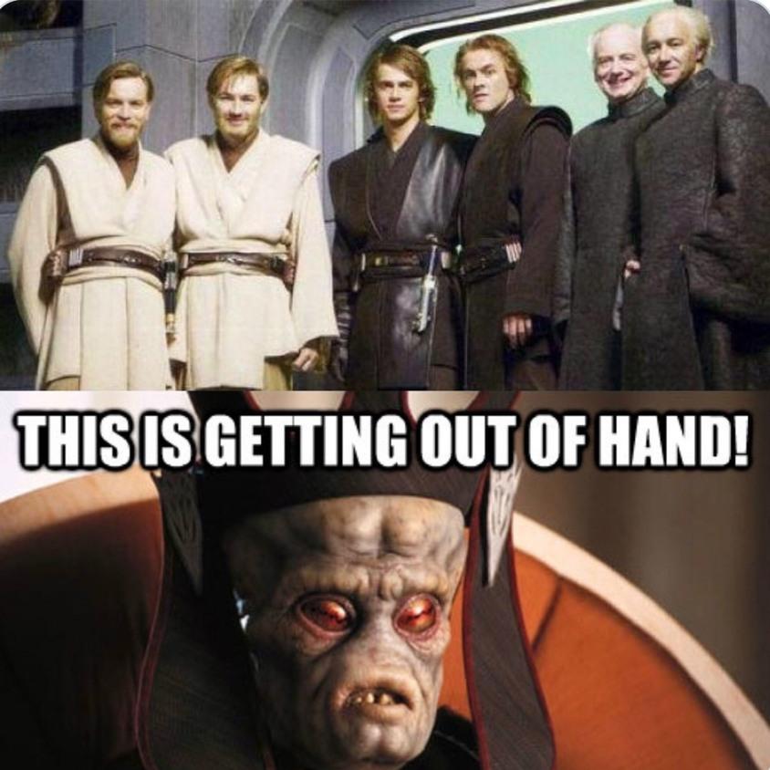 Hello there - meme
