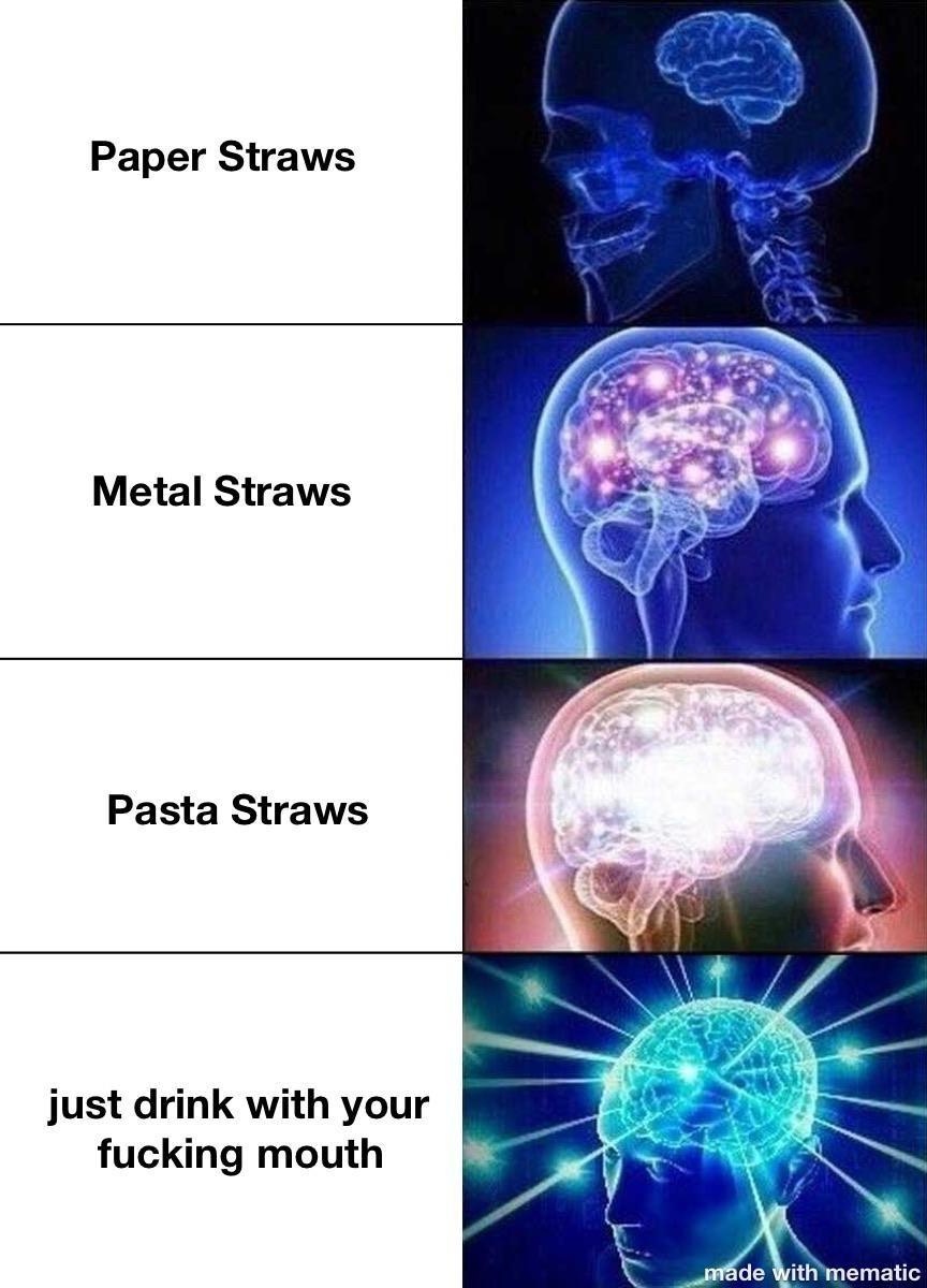 Straws - meme