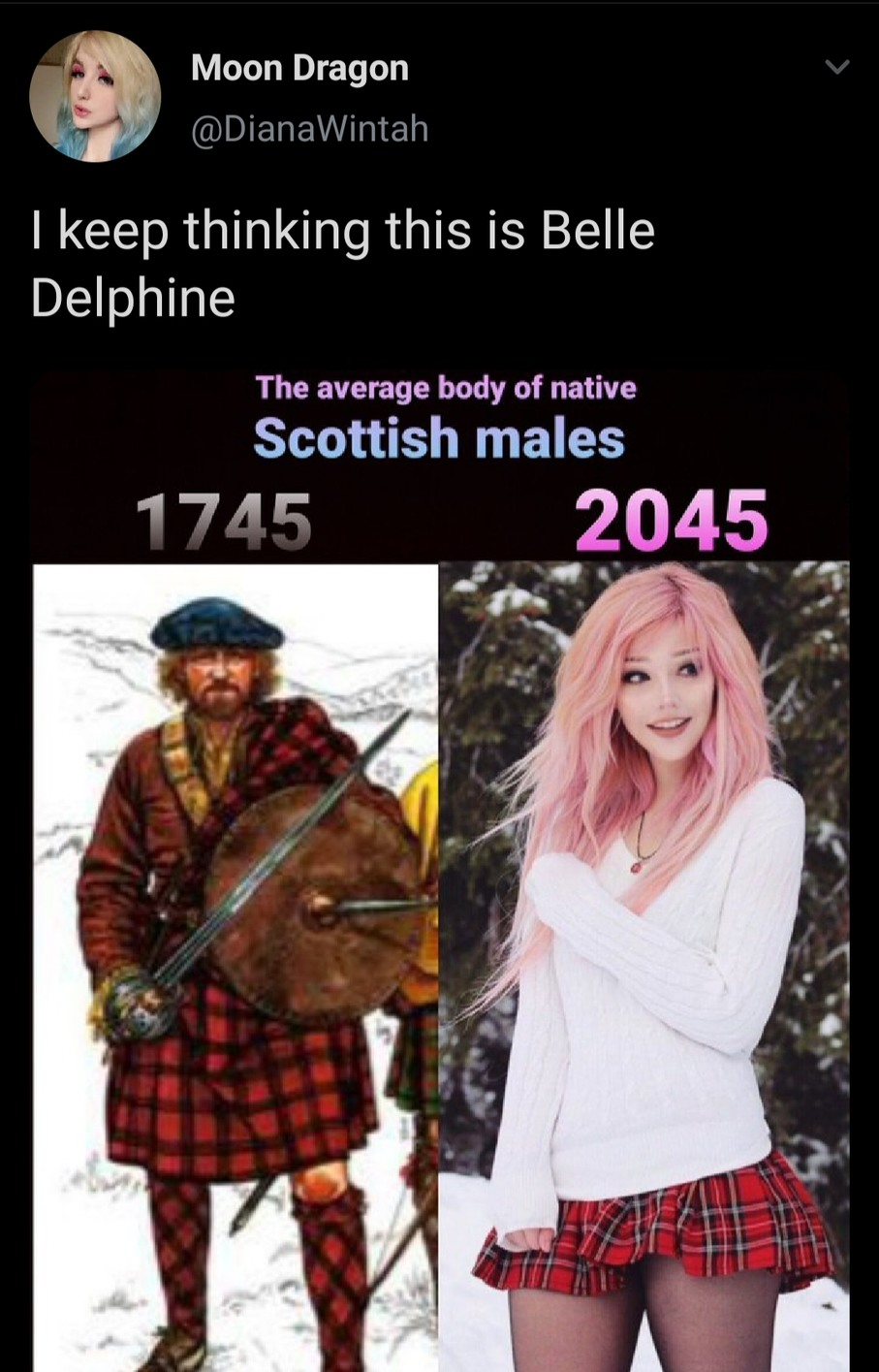 I feel sorry for Scotland men - meme