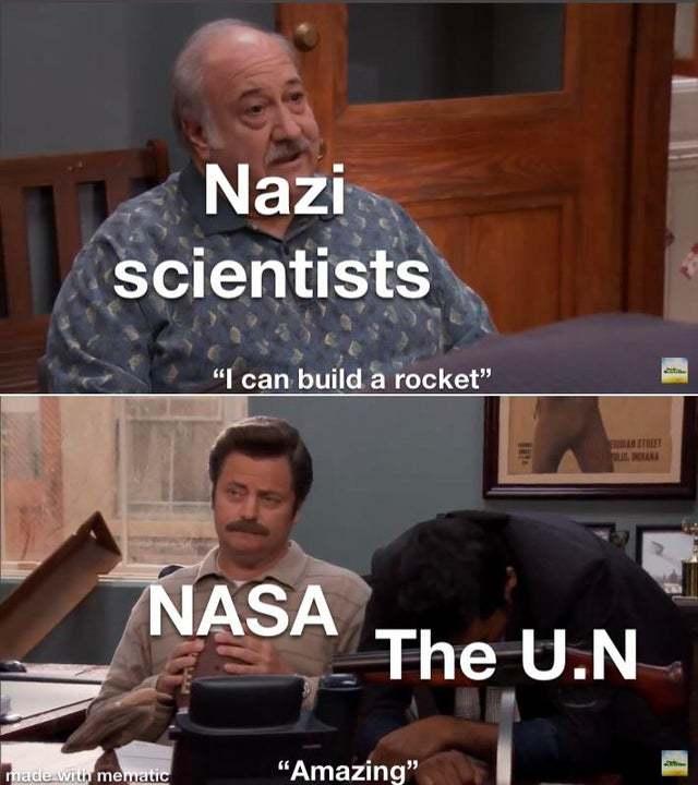 I like the UN - meme