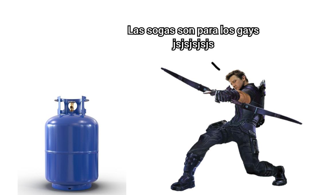 NOOOO HAWK EYE NO LO HAGAS - meme