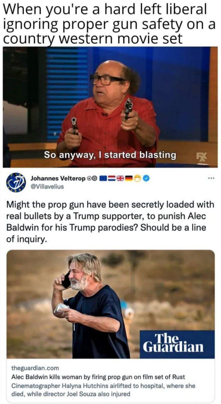 Left liberal logic - meme