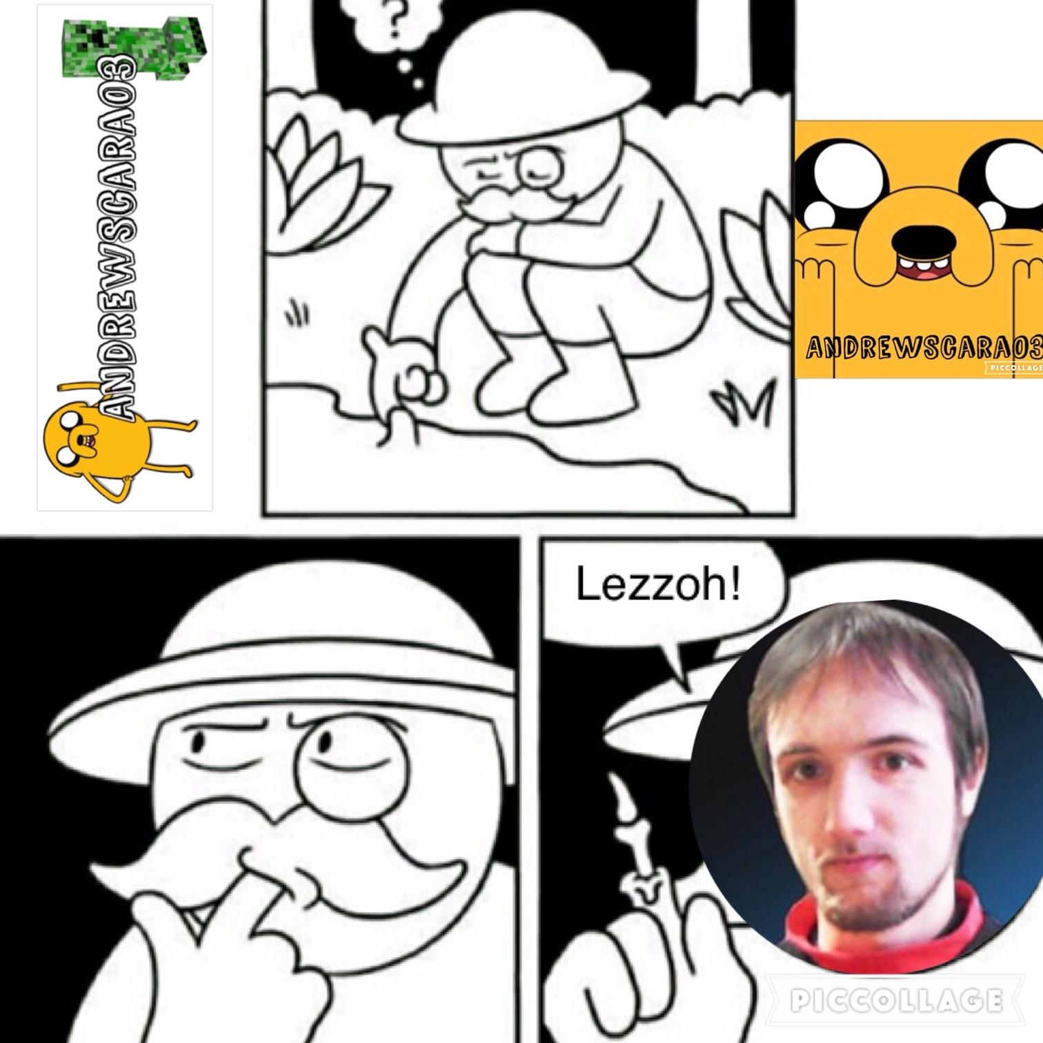 molto lezzoh - meme