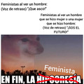 En fin, la feminista
