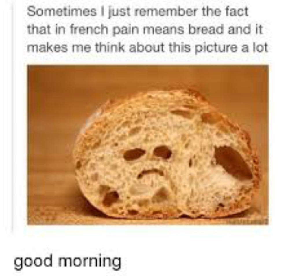 Good morning - meme