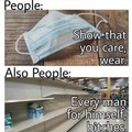 People be like
