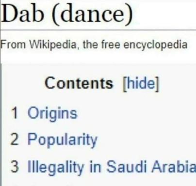 Dab - meme
