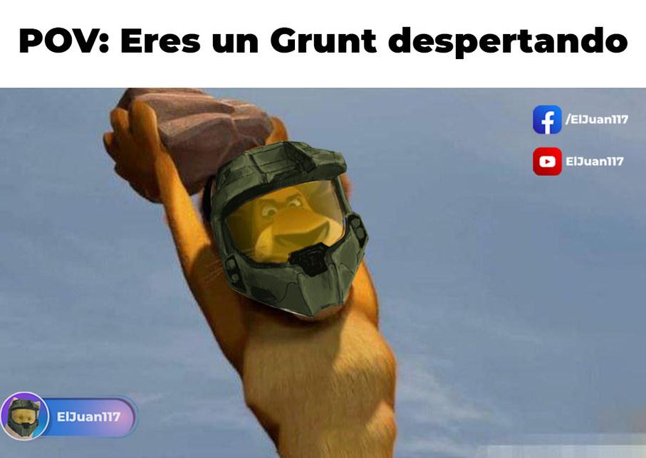 Muere grunt - meme