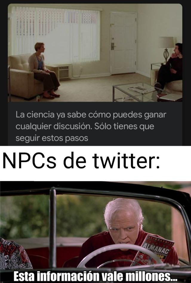 memes twitter (no se si es idea usada)