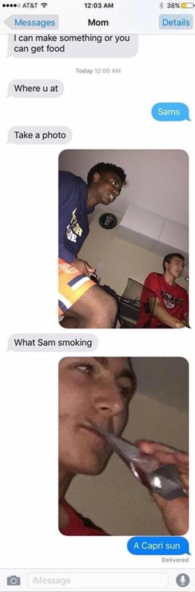 Lmao Sam - meme