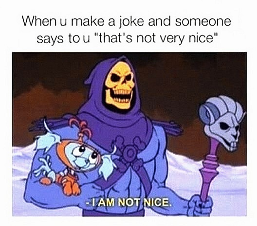 not nice - meme